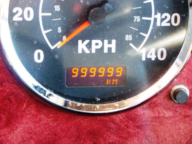 Ford Transit travelled 999999 km