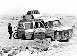 Ford Transit in Sahara