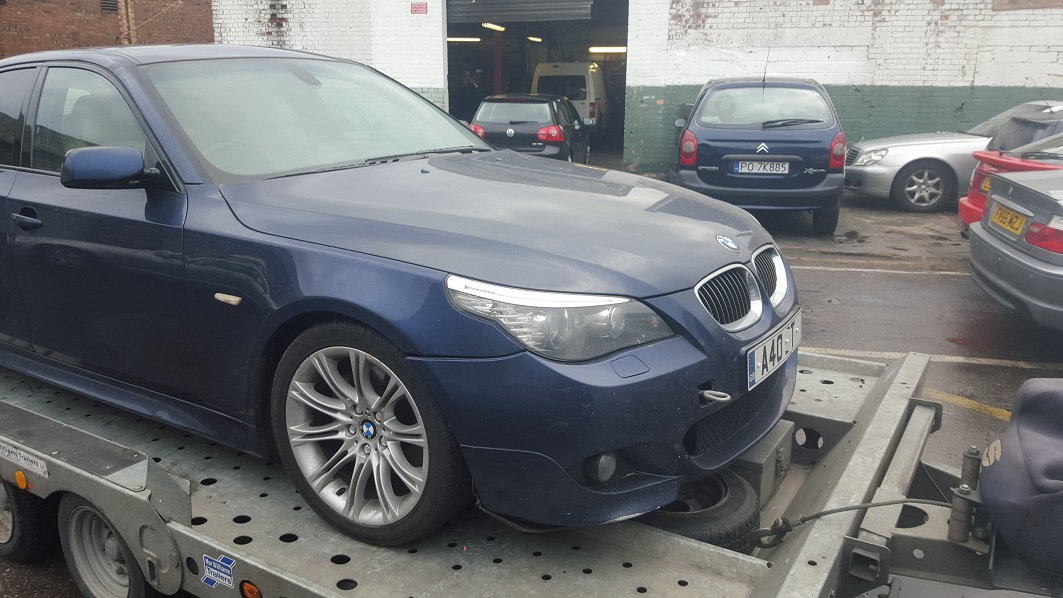BMW 525d delivered