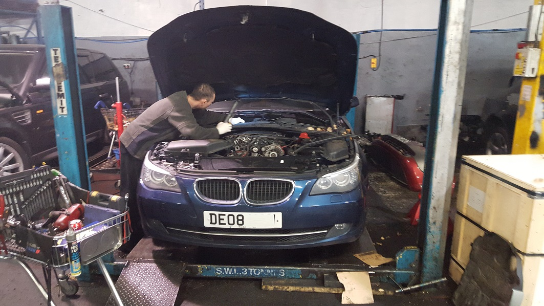 bmw 5 series faulty engine
