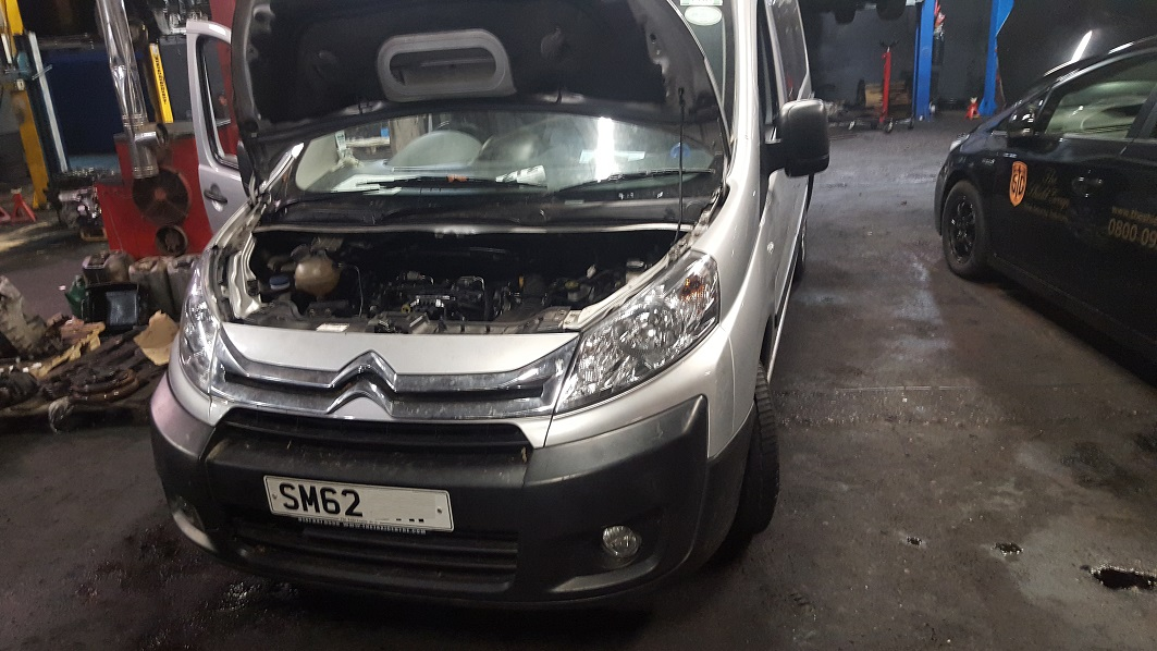 citroen dispatch full installation complete