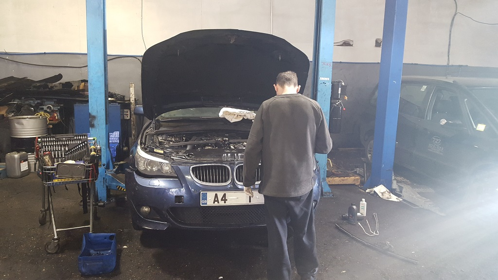 BMW 525D engine due to be removed