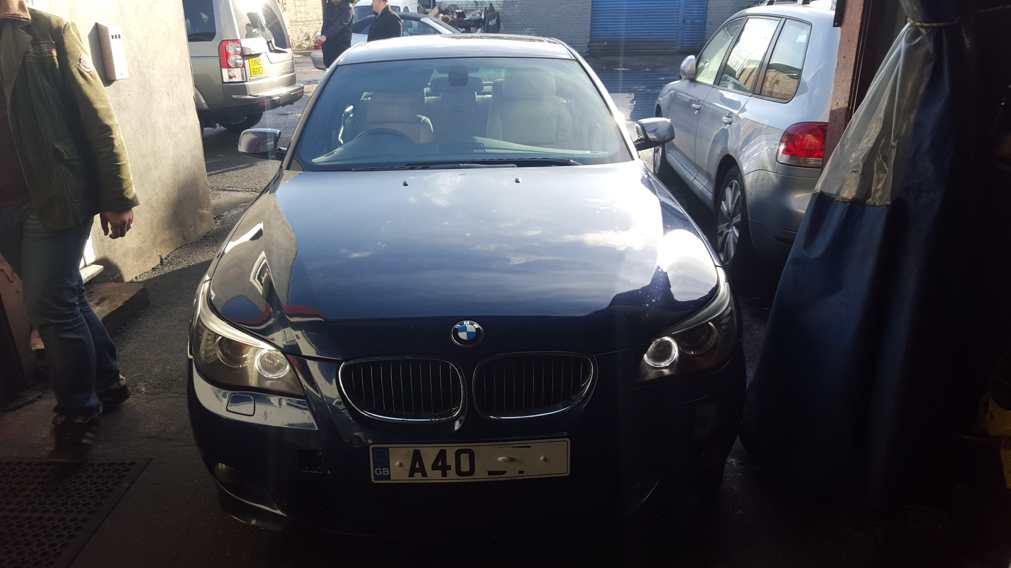 BMW 525D engine replacement complete