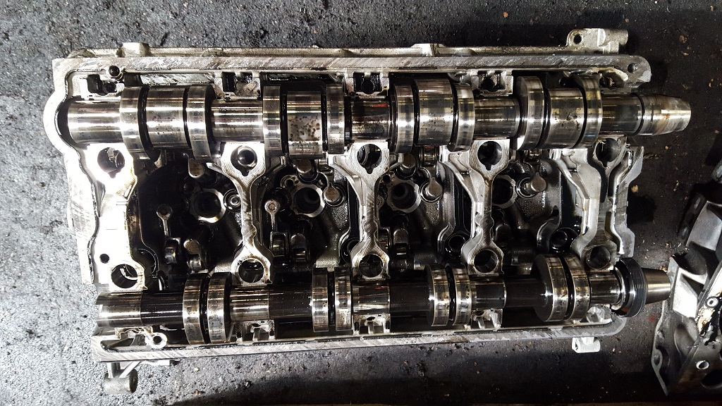 BRE complete cylinder block