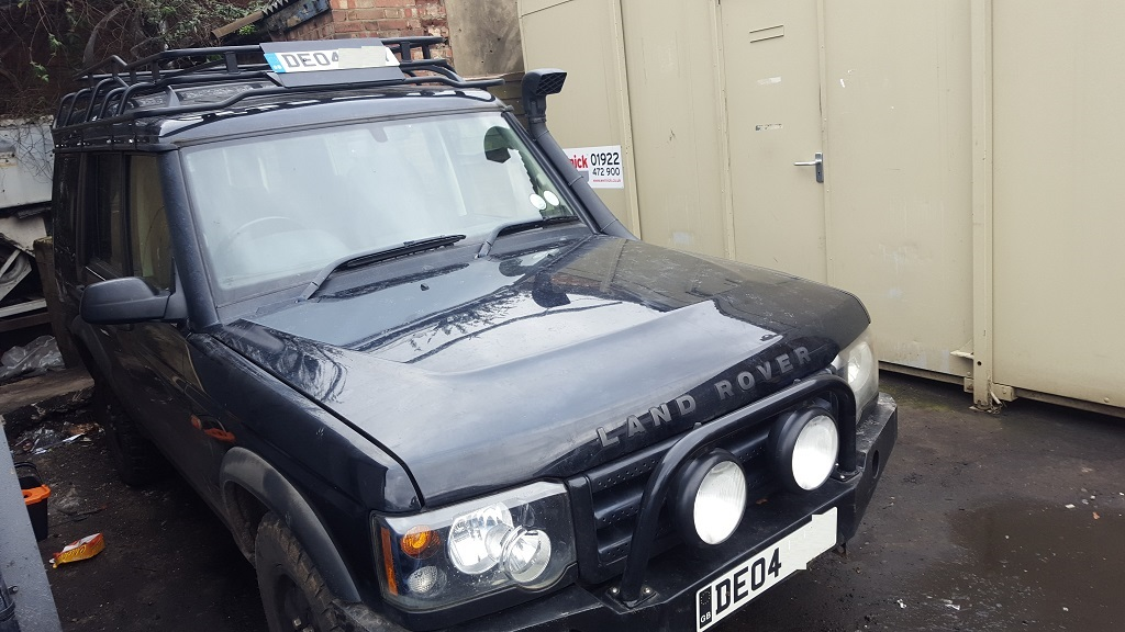 land rover discovery td5 engine replacement